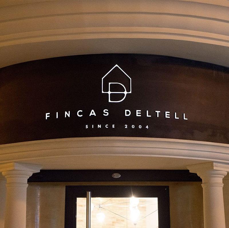 Fincas Deletell ,Entrada